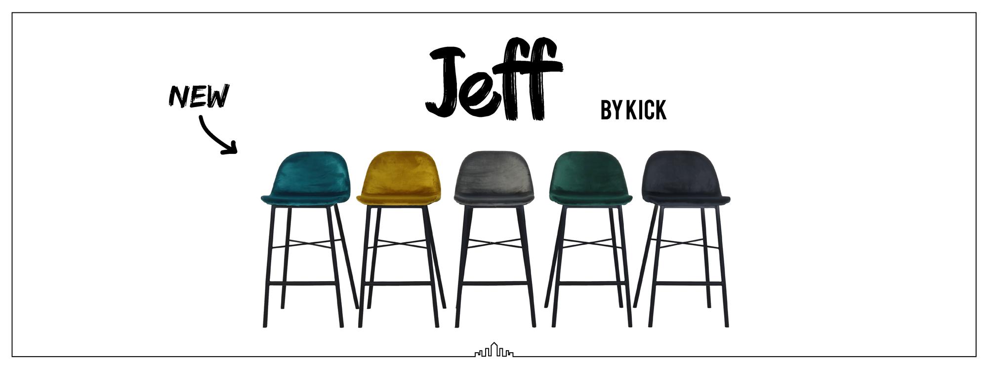 Kick barkruk Jeff