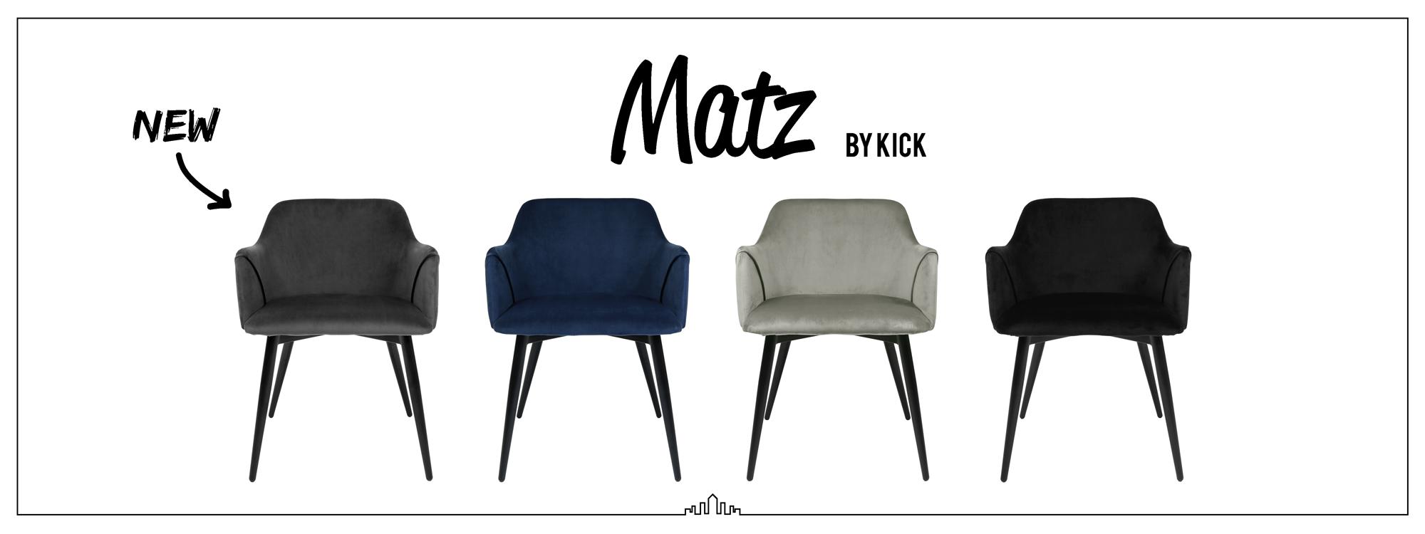 Kick eetkamerstoel - Matz