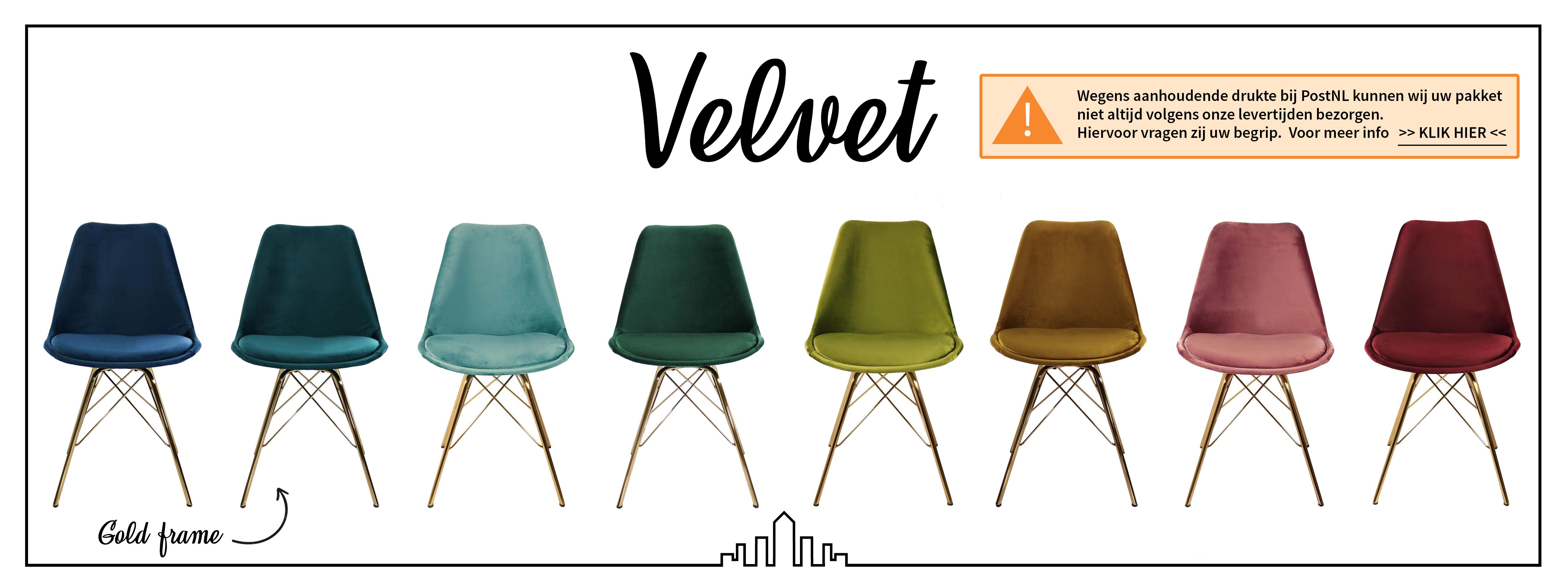 Kick eetkamerstoel - Velvet